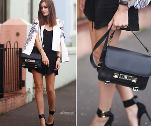 fashion, heels, and hair image