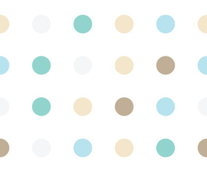colors, pattern, and polka dot image