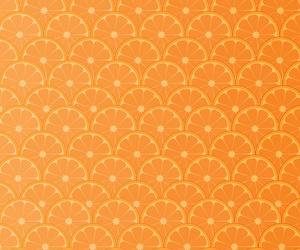 fruit, orange, and pattern image
