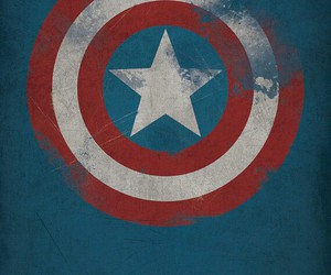 captain america, unique, and poster image