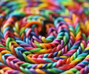 colorful, colors, and loom image