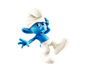 adorable, blue, and cartoon image
