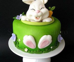 bunny and cake image