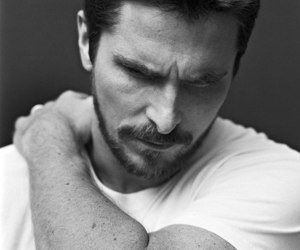 christian bale, handsome, and actor image