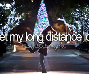 long distance, meant to be, and ldr image
