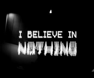30stm, b&w, and believe image