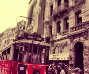 city, istanbul, and red image