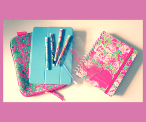pens, planner, and ipad image