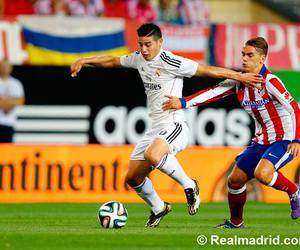 real madrid, footballer, and james rodriguez image