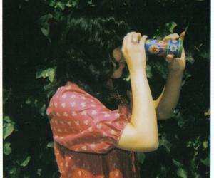 girl and kaleidoscope image