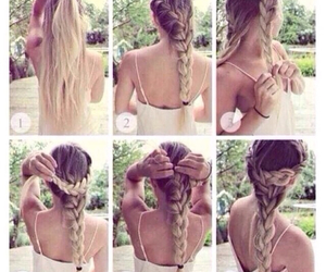 tumblr, tutorial, and braids image