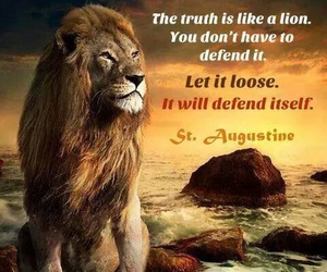 Defend, lion, and loose image
