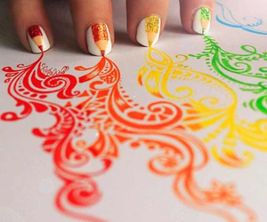 art, nail art, and nails image