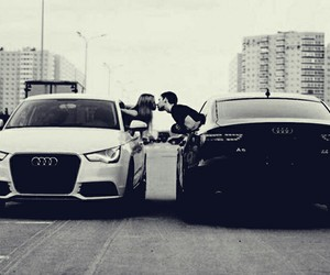 love, audi, and car image