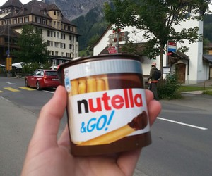 eat, heaven, and nutella image