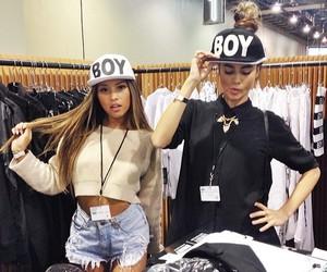 girl, swag, and boy image