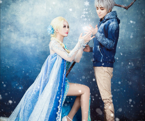cosplay, jack frost, and elsa image