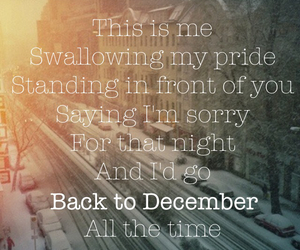 Taylor Swift, my edit, and back to december image