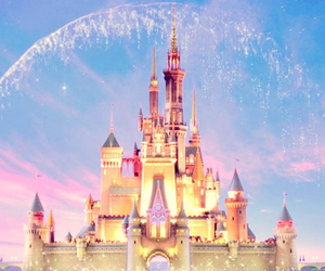 disney, castle, and magic image