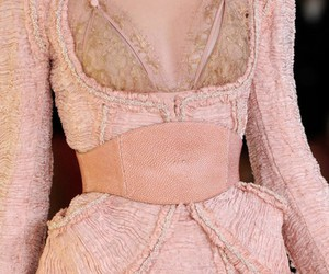 Alexander McQueen, belt, and Couture image