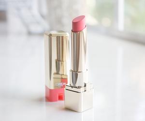 loreal, lipstick, and pink image