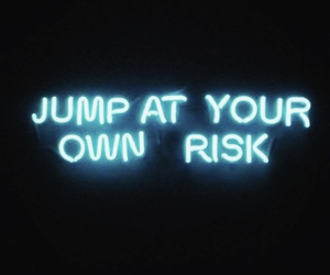 blue, quotes, and jump image