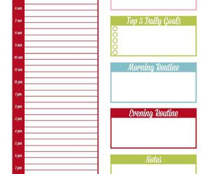 create, motivation, and planner image