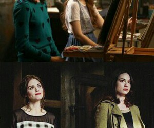 lydia martin, teen wolf, and allison argent image
