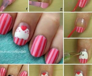 diy, red, and nails image