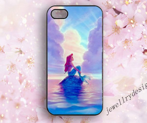 the little mermaid, samsung galaxy s3 s4 s5, and iphone 4 4s cover image