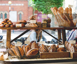bake, bread, and breakfast image