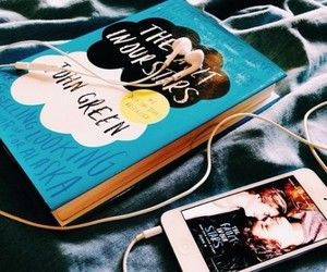 book, music, and tfios image