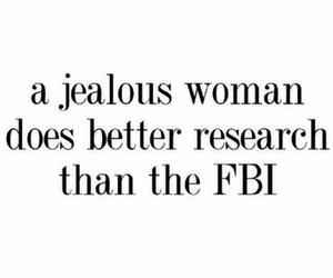 fbi, love, and jealous image