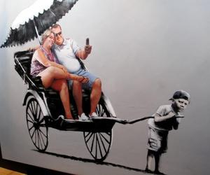 BANKSY and art image