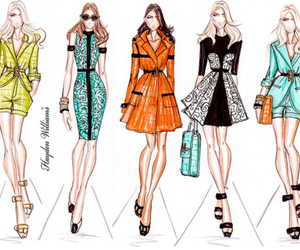 fashion, style, and sketch image
