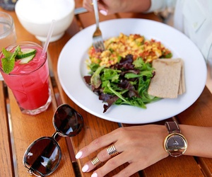 fashion, watches, and food image