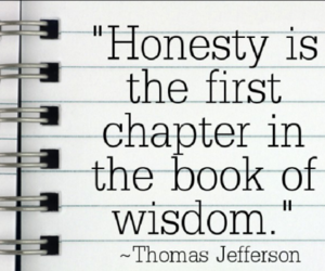 quotes about honesty, quotes on honesty, and honesty quotes image