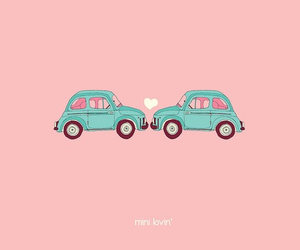 car, love, and pink image