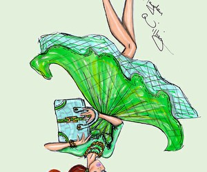 hayden williams, fashion, and green image