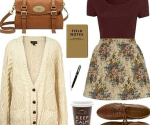outfit, fashion, and vintage image