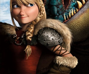 astrid and toothless image