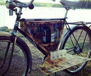bike, alcohol, and drink image
