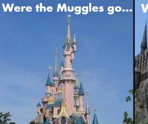disney world, disneyland, and hogwarts image