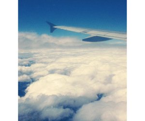 airplane, fly, and free image