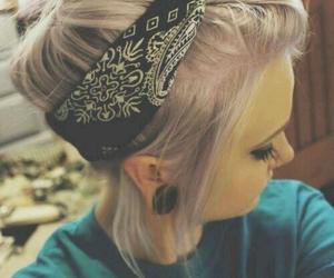 hair and bandana image