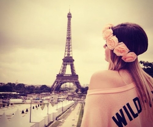 paris, girl, and pink image