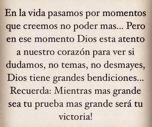 frases, victoria, and dios image