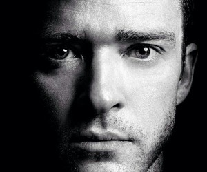 justin timberlake, black and white, and justin image