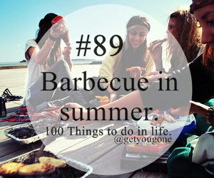 barbecue, summer, and 89 image