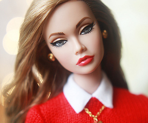 barbie, fashion, and girl image